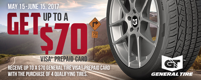Need Tires Save With A General 70 Rebate Blog Kenwood Tire