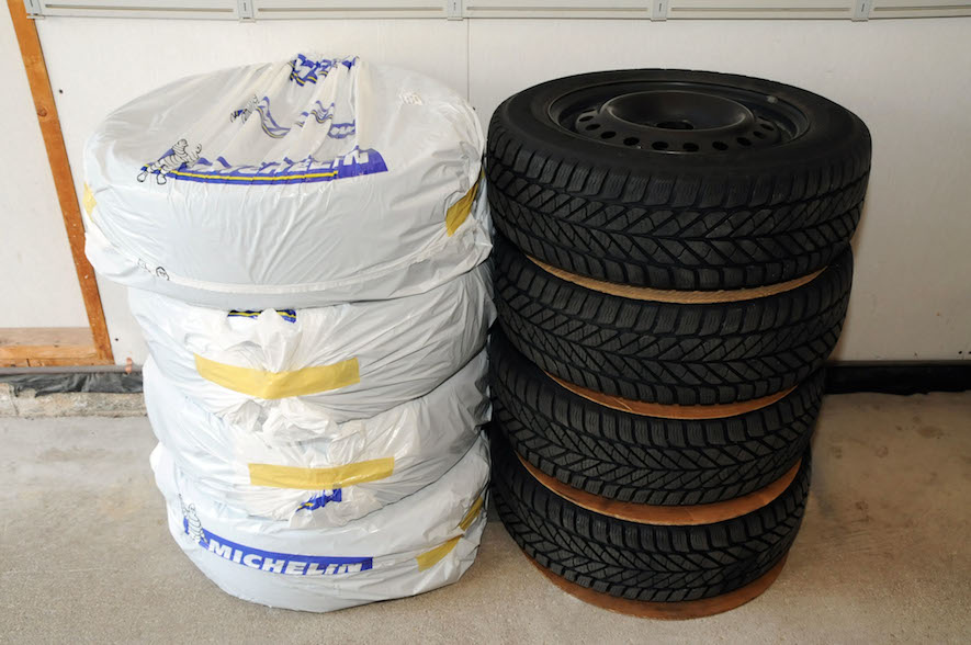 Tires 101 - Storing Your Summer & Winter Tires at Home