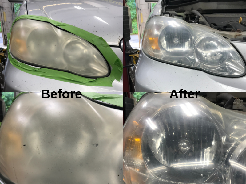 3M Headlight Lens Restoration Service